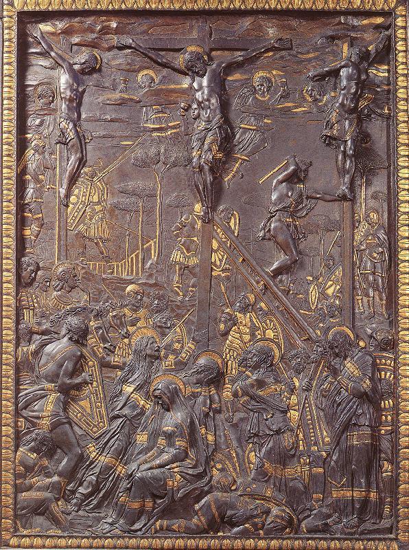 1465, Crucifixión de Donatello en el Museo Nazionale del Bargello (Florencia)