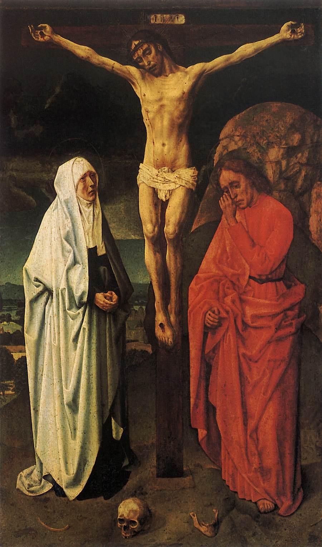 1470, La Crucifixión de Hugo van der Goes en el Museo Correr (Venecia)