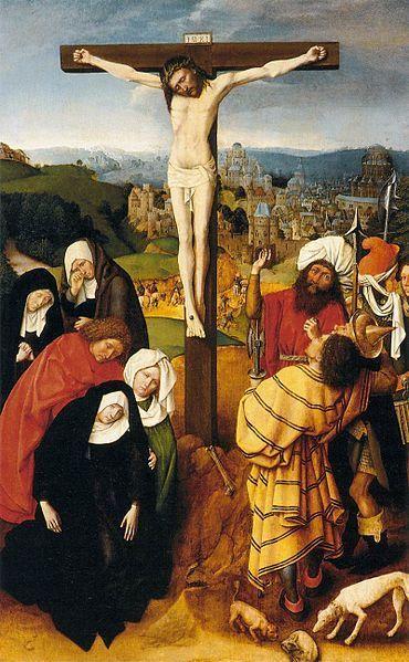 1490, La Crucifixión de Gérard David en el Museo Thyssen-Bornemisza