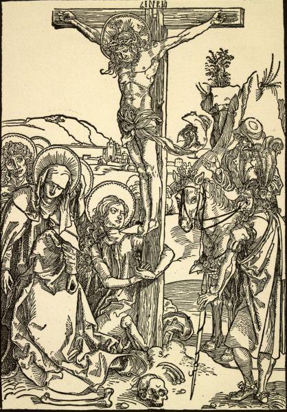 1495, Crucifixión de Cristo de Alberto Durero