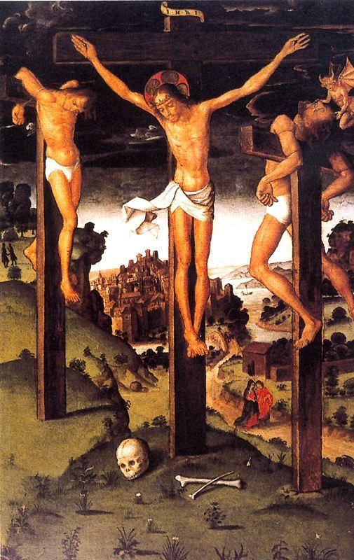 1500, Díptico del Calvario y la Piedad de Pedro Berruguete en el Museo Catedral San Antolín (Palencia)