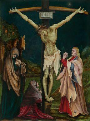 1511-20, La pequeña Crucifixión de Matthias Grünewald