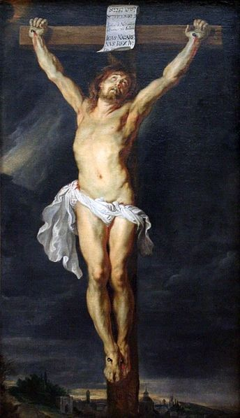 1618-20, La Crucifixión de Cristo de Peter Paul Rubens