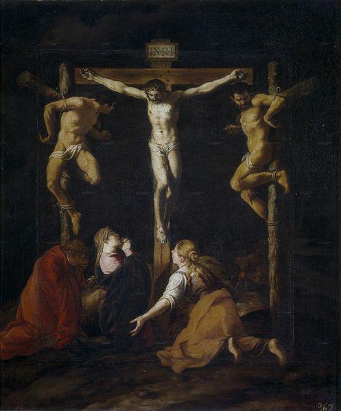 1630, La Crucifixión de Pedro de Orrente en el Museo del Prado (Madrid)