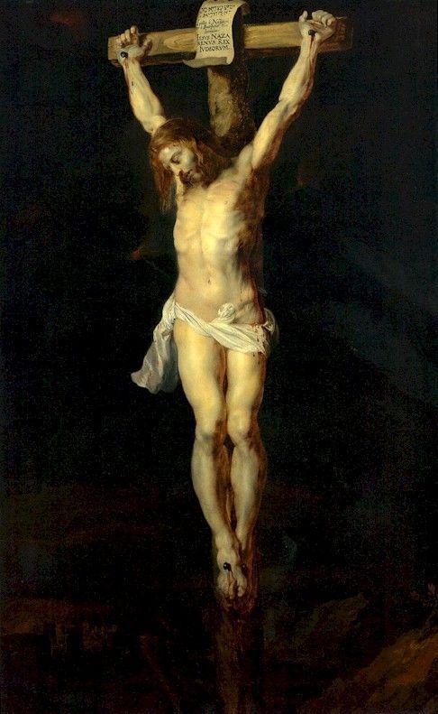 1616, Crucifixión de Peter Paul Rubens