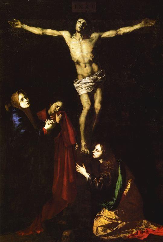 1618, El Calvario de José de Ribera