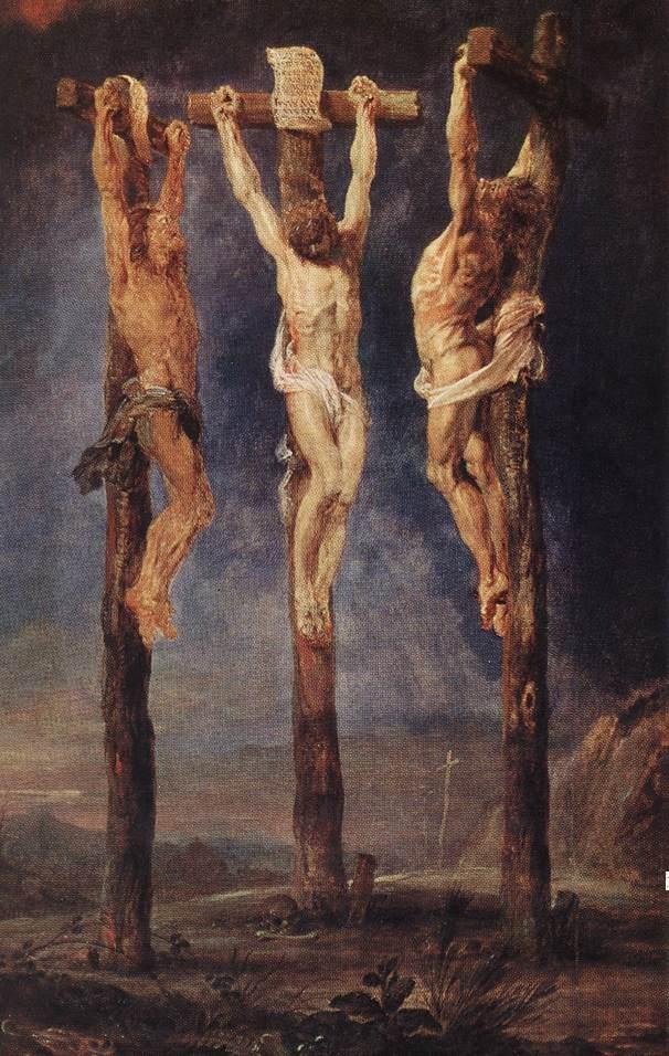 1620, Las tres cruces de Peter Paul Rubens