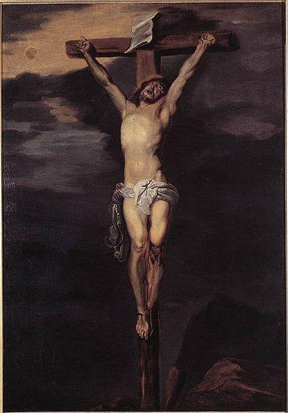 1627, Cristo en la cruz de Anthony van Dyck en el Museo Nacional Thyssen-Bornemisza (Madrid)
