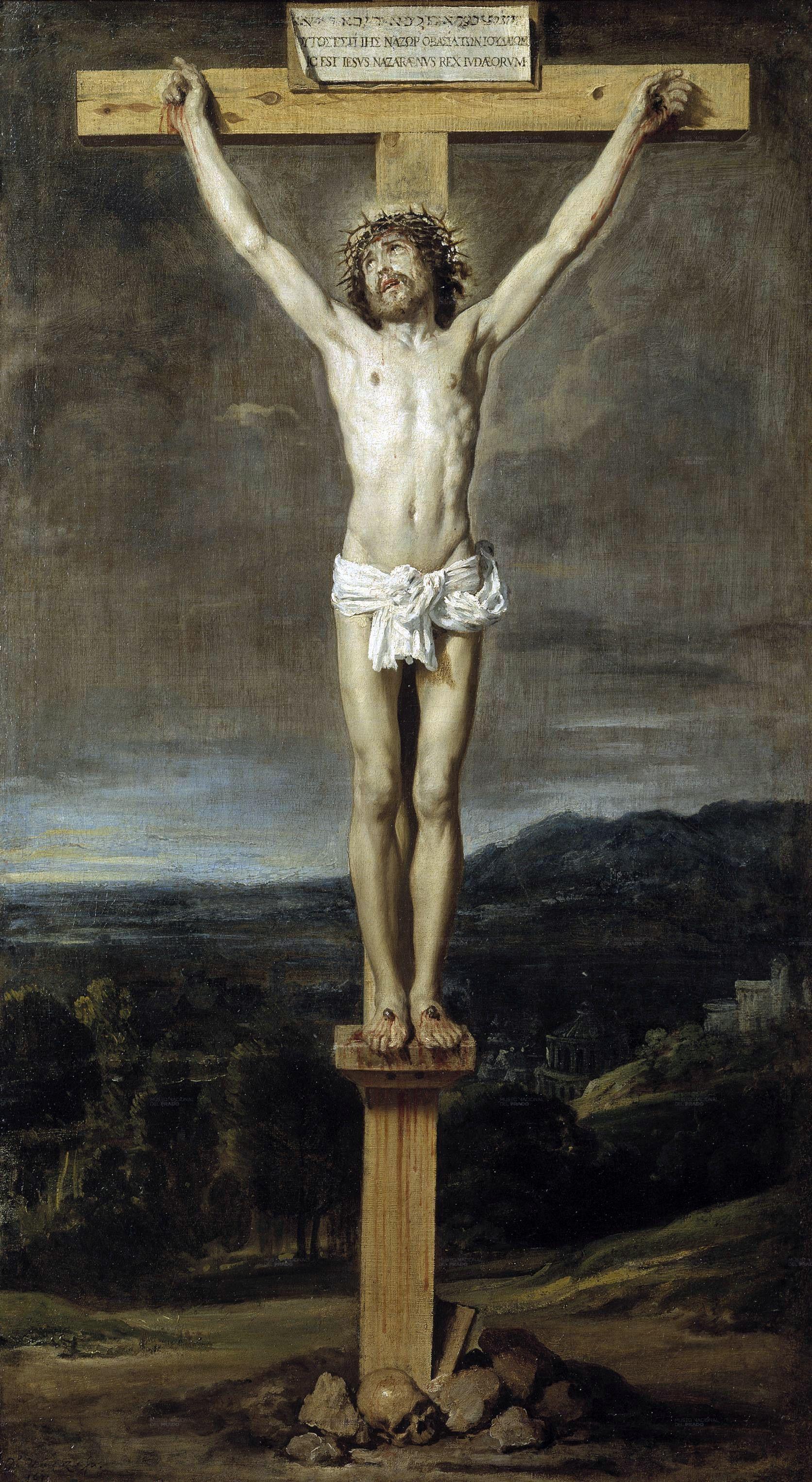1631, Cristo en la cruz de Diego Velázquez en el Museo del Prado de Madrid
