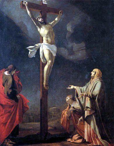 1631, La Crucifixión de Simon Vouet