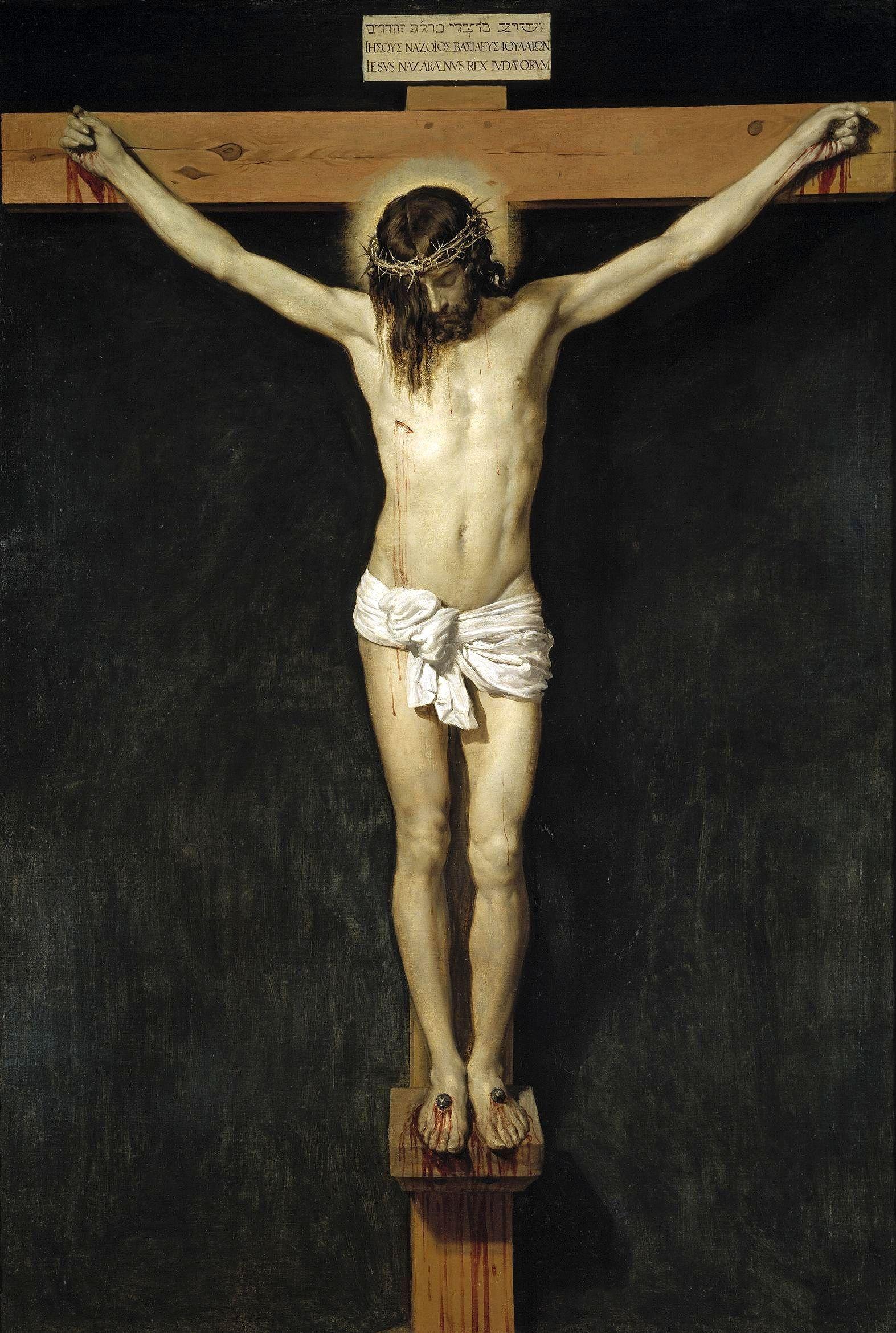 1632, Cristo crucificado de Diego Velázquez en el Museo del Prado (Madrid)