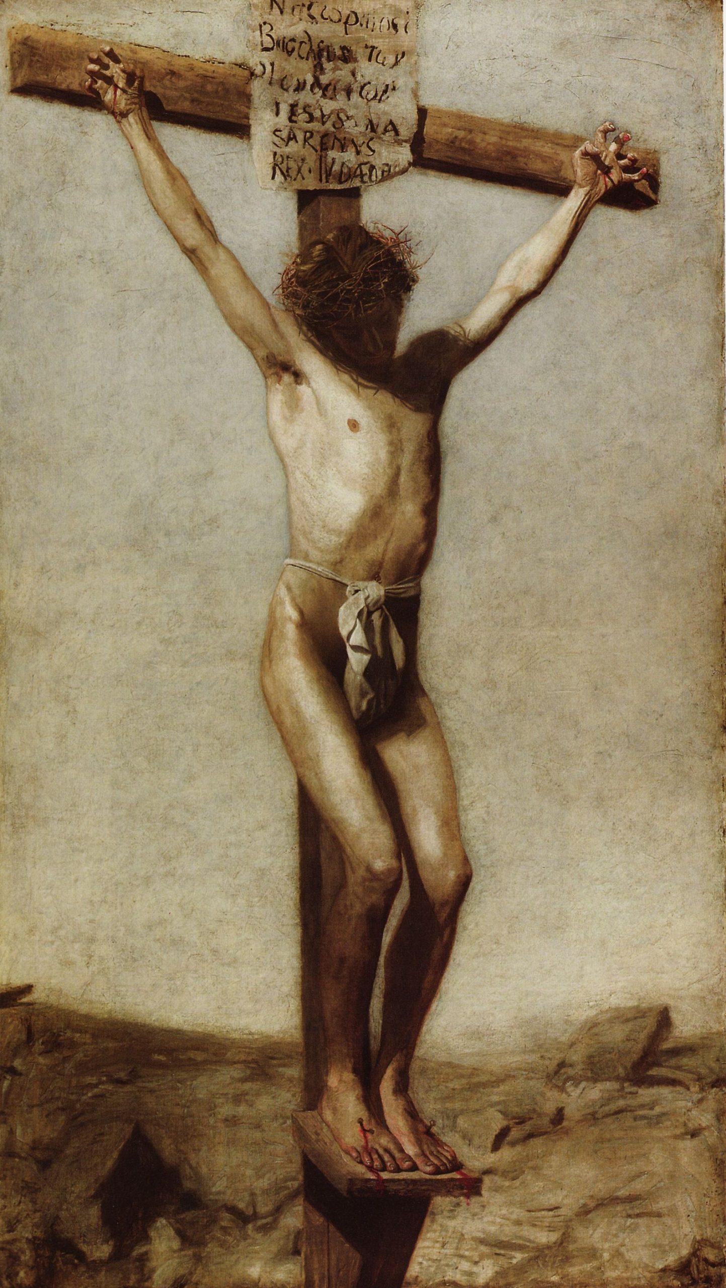 1880, La Crucifixión de Thomas Eakins en el Museo de Arte de Filadelfia