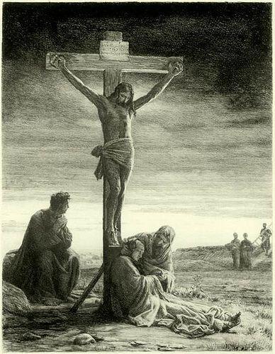 1881, Crucifixión de Cristo de Carl Heinrich Bloch