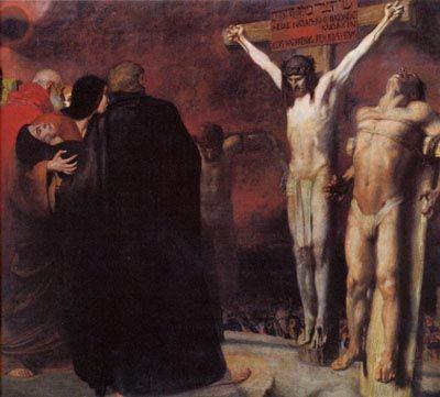 1892, Crucifixión de Franz von Stuck