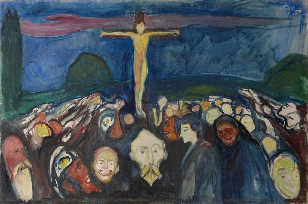 1900, Gólgota de Edvard Munch