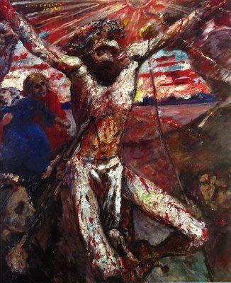 1922, El Cristo rojo de Lovis Corinth