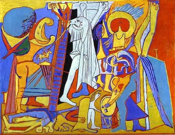 1930, Crucifixión de Pablo Picasso