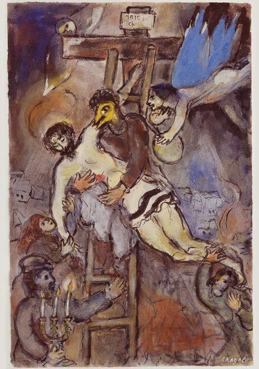 1941, Descenso de la Cruz de Marc Chagall