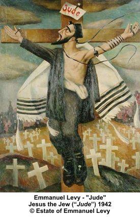 1942, Jesús el Judío (Jude) de Emmanuel Levy en el Museo Ben Uri (Londres)