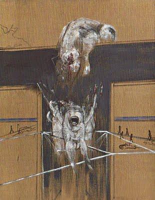 1950, Fragmento de una Crucifixión de Francis Bacon