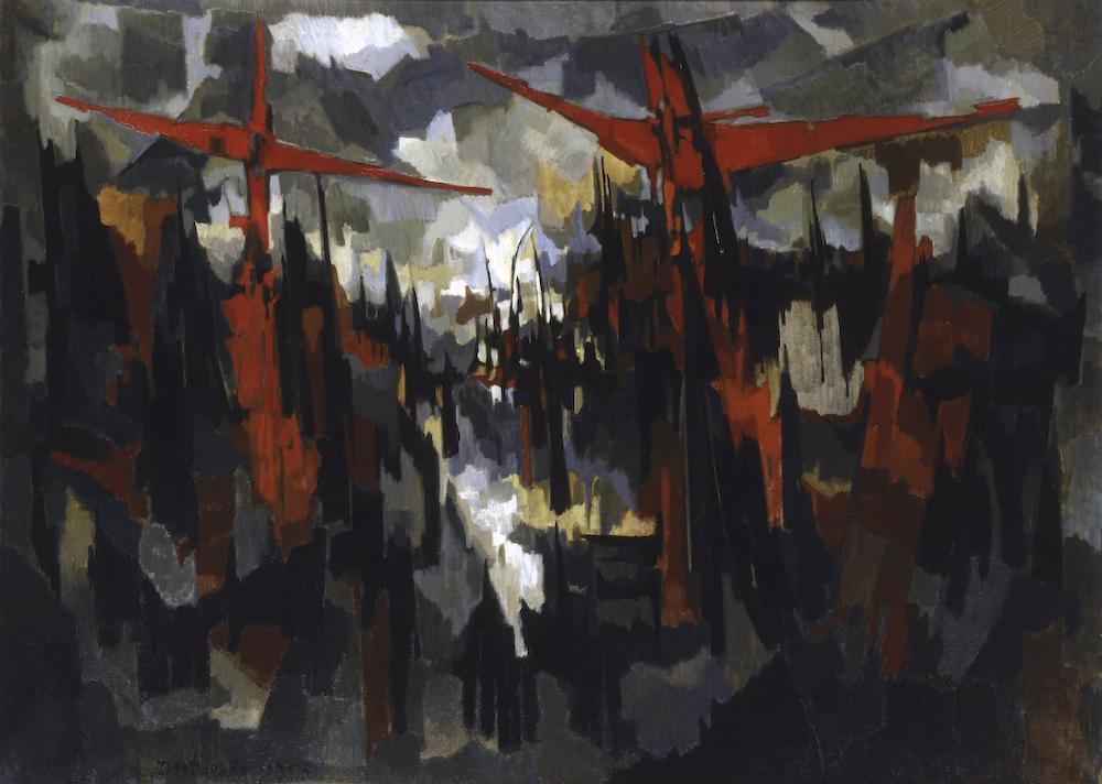 1954, Gólgota de Pierre Dmitrienko
