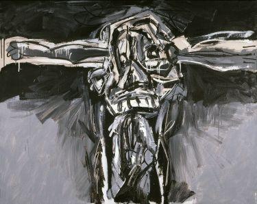 1959-63, Crucifixión de Antonio Saura en el Guggenheim de Bilbao