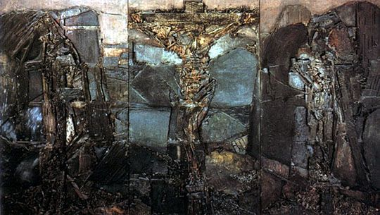 1964, Gólgota de Lucio Muñoz