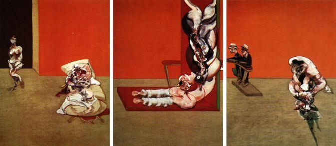1965, Crucifixión de Francis Bacon