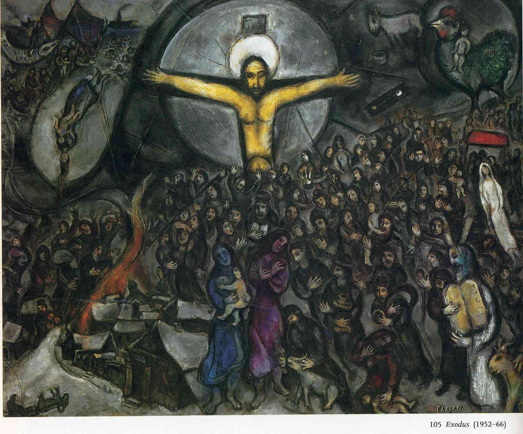 1952-66, Exodus de Marc Chagall