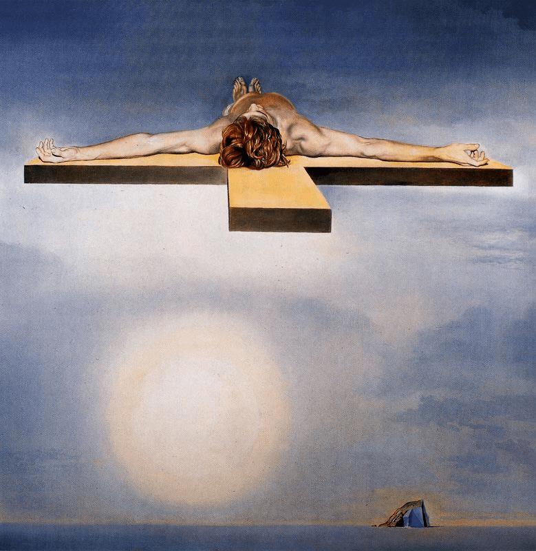 1978, El Cristo de Gala de Salvador Dalí
