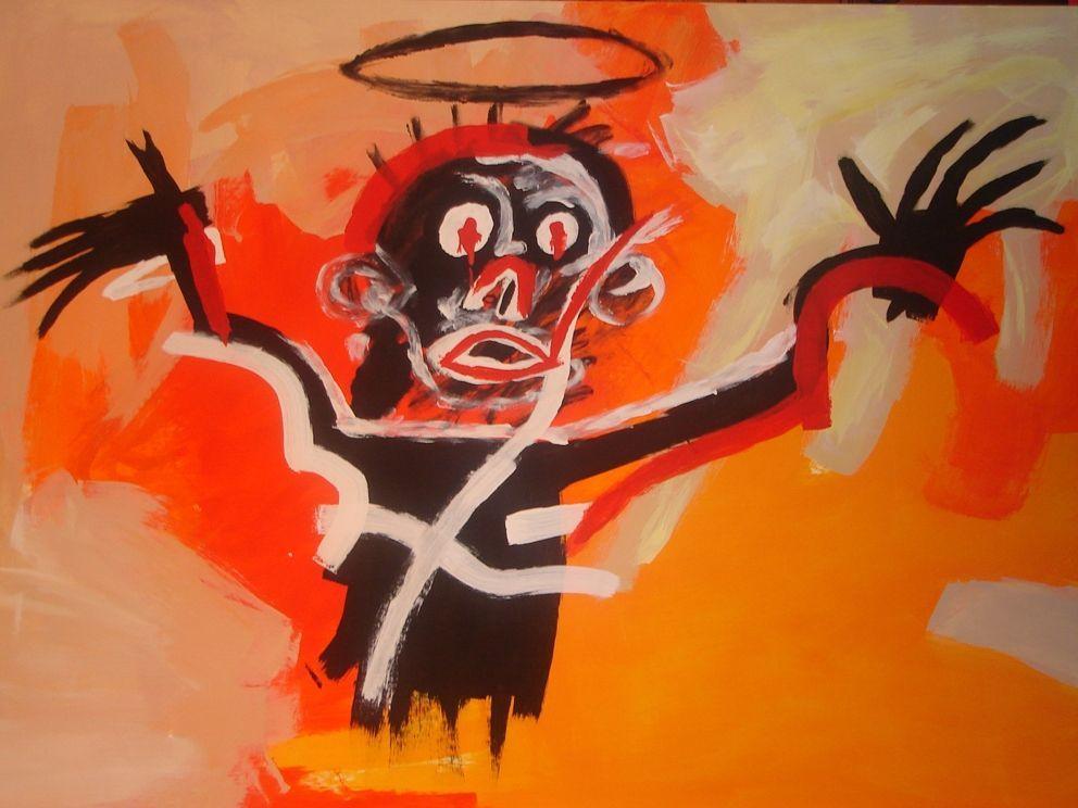 1982, Ángel de Jean-Michel Basquiat