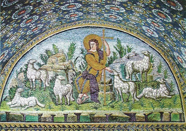 Un ciervo en la Iglesia de San Eustaquio (París)