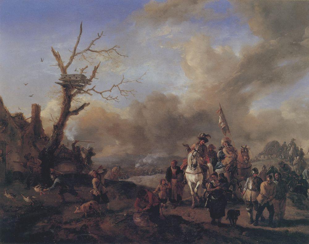 Philips Wouwerman,  Haarlem (Holanda), 1619–1668
