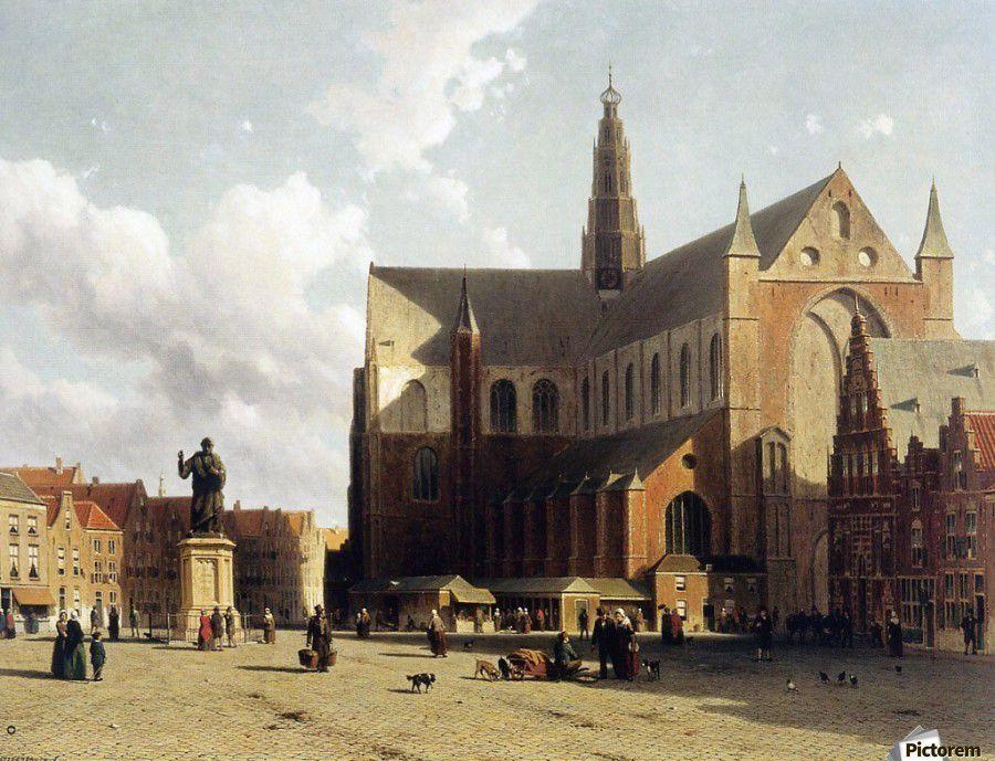 Jan Weissenbruch, La Haya, 1822-1880