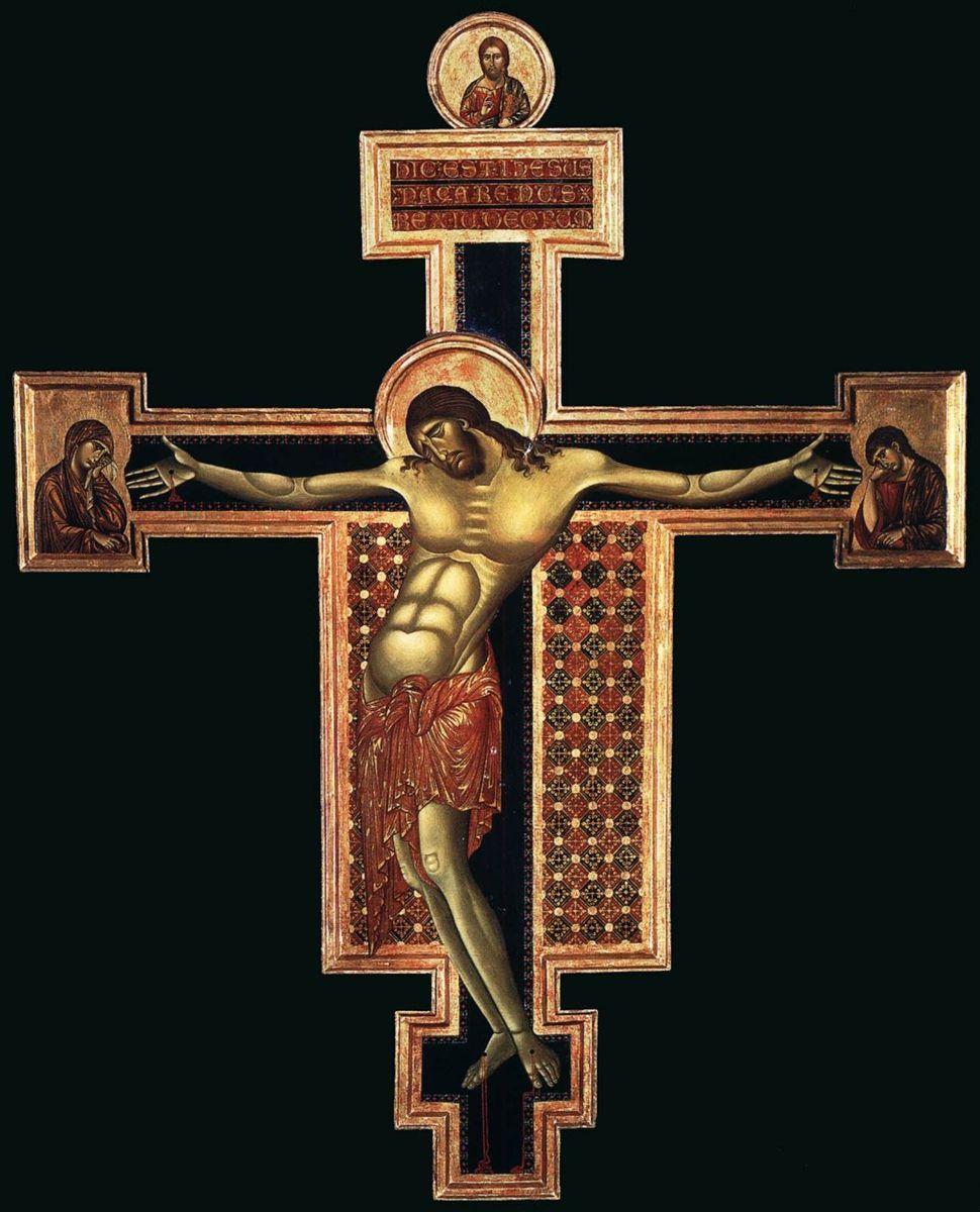 1268-1271, El Crucifijo de San Domenico en Arezzo