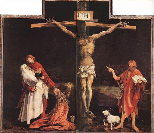 1512-16, El retablo de Isenheim de Matthias Grünewald en el Musée d'Unterlinden de Colmar (Francia)