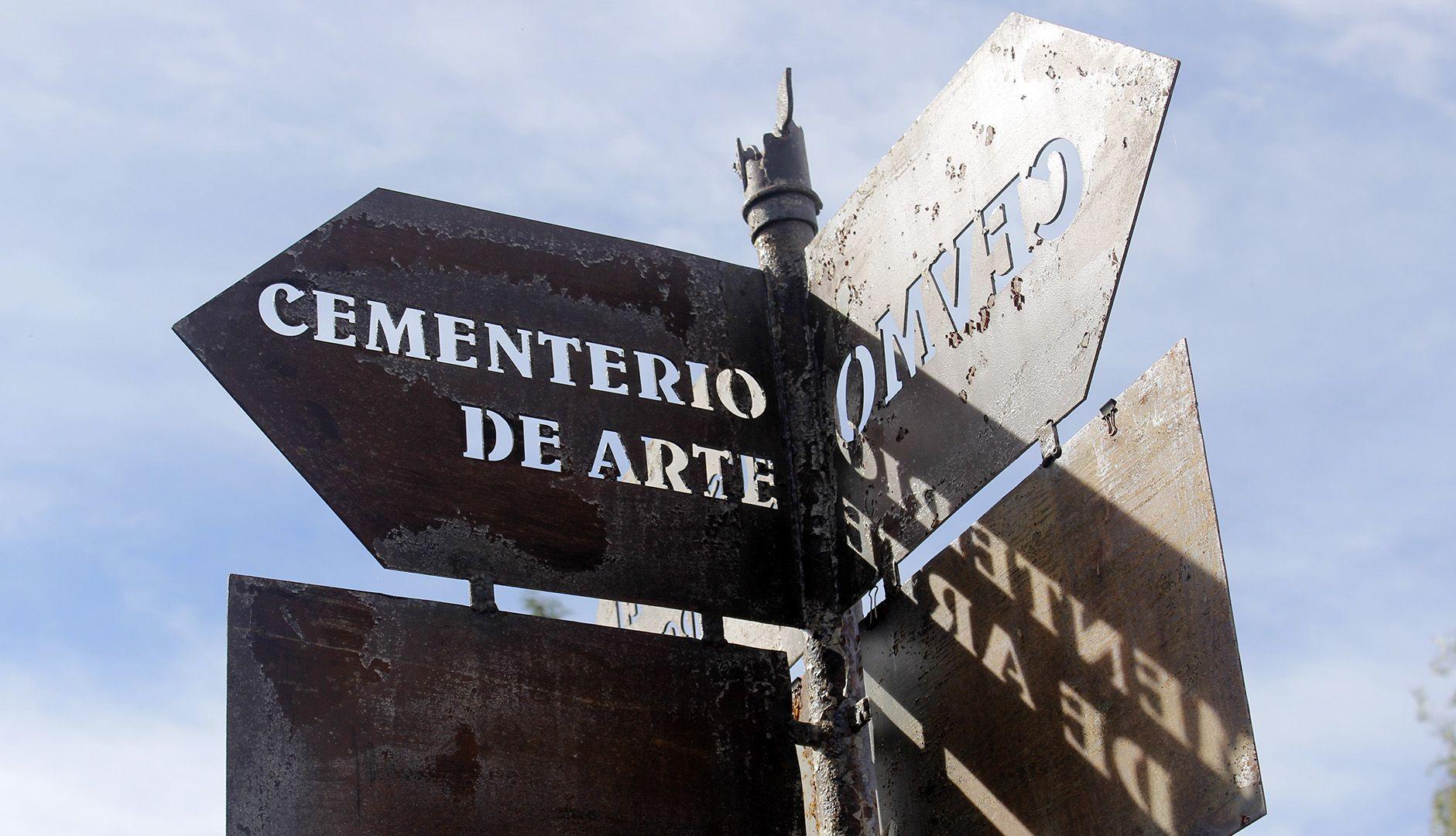 Cementerio de Arte de Morille (Salamanca)