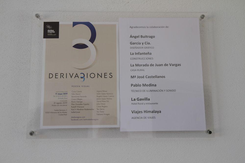 Inauguración «Derivaciones 3», 12 de mayo de 2019
