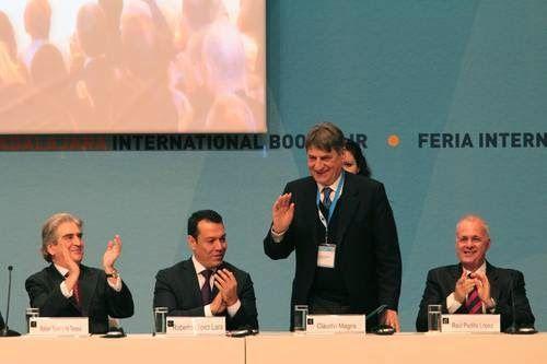Discurso de Claudio Magris en la recepción del Premio FIL de Literatura del 2014