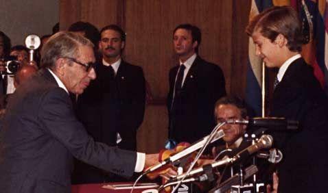 Discurso de Gonzalo Torrente Ballester al recibir el Premio Príncipe de Asturias de las Letras de 1982