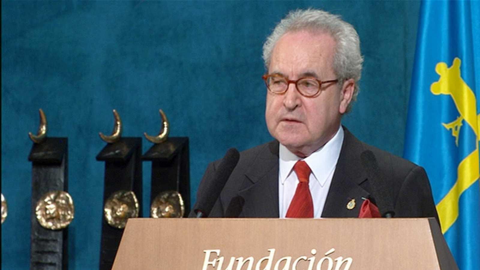 Discurso de John Banville al recibir el Premio Príncipe de Asturias de las Letras de 2014