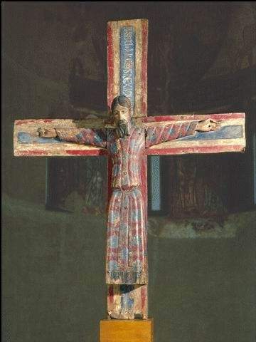 1150, Cristo de Batlló en el Museo Nacional de Arte de Cataluña (Barcelona)