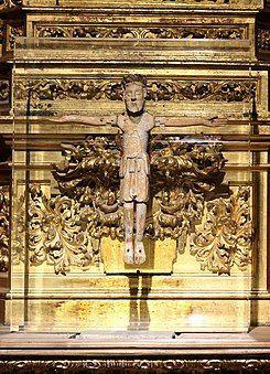 1150, Cristo de las Batallas en la Catedral Nueva de Salamanca