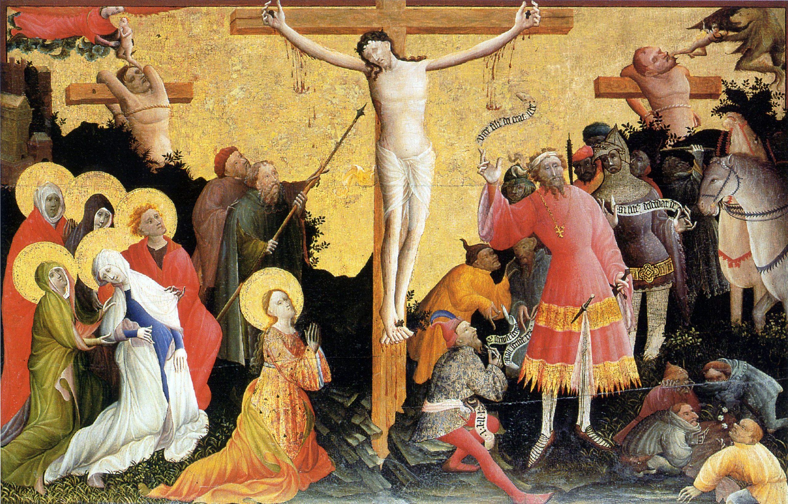 1370, Retablo del Altar de Berswordt (anónimo) en Dortmund