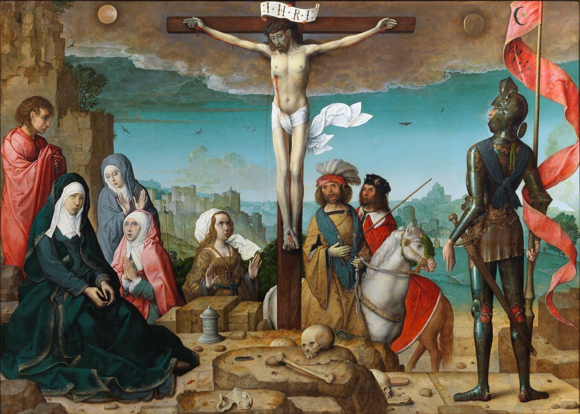 1509-19, La Crucifixión de Juan de Flandes en el Museo del Prado (Madrid)