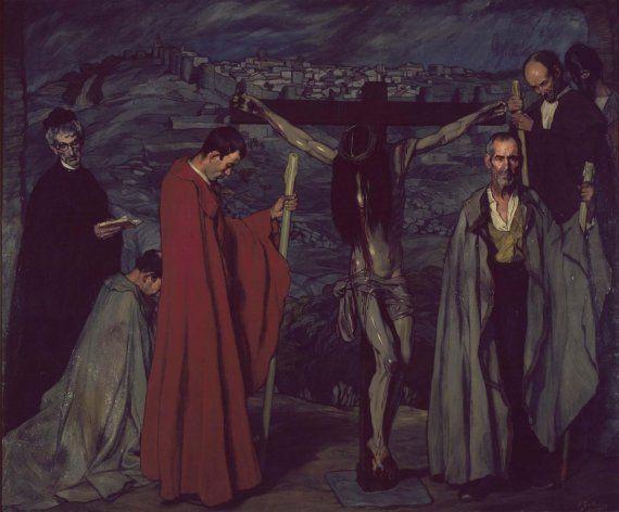 1911, El Cristo de la sangre de Ignacio Zuloaga en el Museo Nacional Centro de Arte Reina Sofía (Madrid)