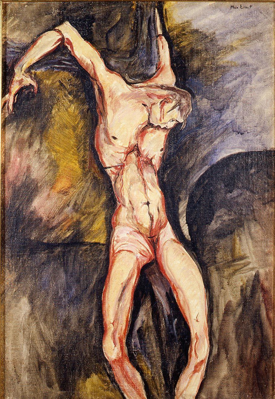 1914, Crucifixión de Max Ernst en el Museo del Vaticano