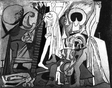 1934, Crucifixión de Pablo Picasso