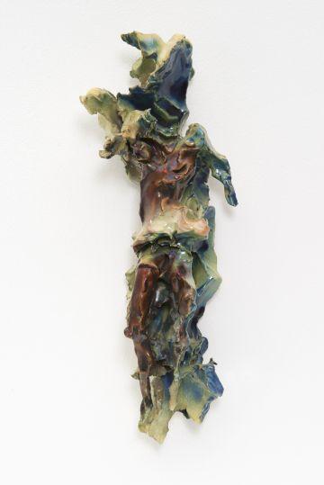 1955-57, Crucifixión de Lucio Fontana