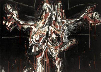 1962, Crucifixión de Antonio Saura